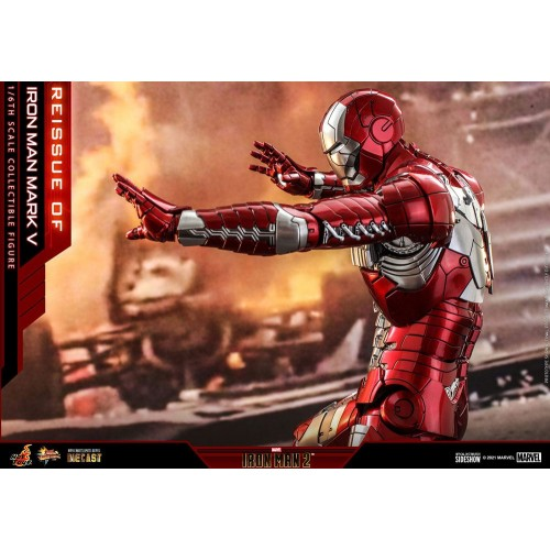 Iron Man 2 Movie Diecast Action Figure 1/6 Iron Man Mark V 32 cm Hot Toys - 9