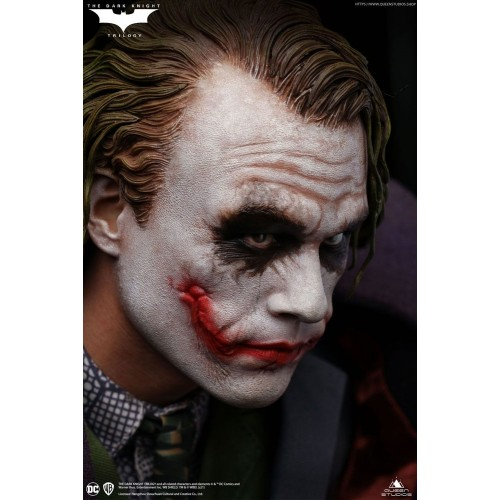 The Dark Knight Statue 1/4 Heath Ledger Joker Regular Edition 52 cm Queen Studio - 4