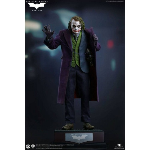 The Dark Knight Statue 1/4 Heath Ledger Joker Regular Edition 52 cm Queen Studio - 5