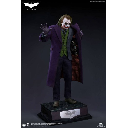 The Dark Knight Statue 1/4 Heath Ledger Joker Regular Edition 52 cm Queen Studio - 8