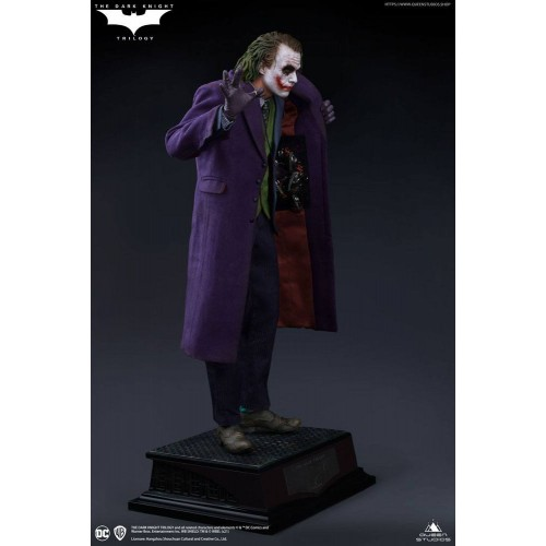 The Dark Knight Statue 1/4 Heath Ledger Joker Regular Edition 52 cm Queen Studio - 10