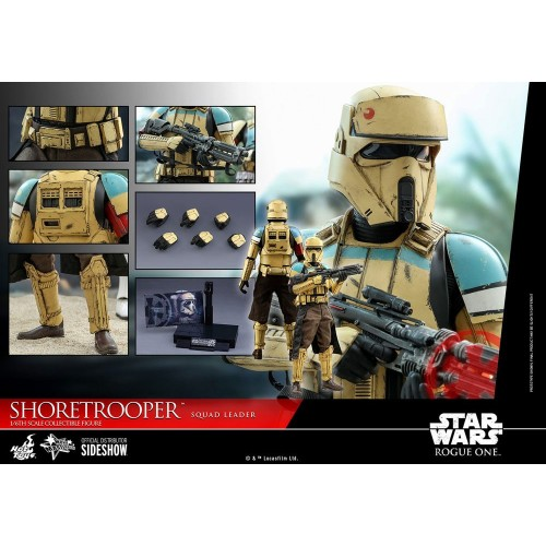 Rogue One: A Star Wars Story Action Figure 1/6 Shoretrooper Squad Leader 30 cm Hot Toys - 14