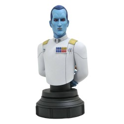 Star Wars Rebels Bust 1/7 Grand Admiral Thrawn 15 cm GENTLE GIANT - 1