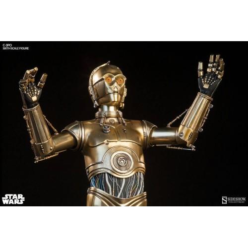 Star Wars Episode IV Action Figure 1/6 C-3PO 30 cm Sideshow Collectibles - 4