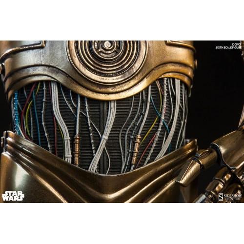 Star Wars Episode IV Action Figure 1/6 C-3PO 30 cm Sideshow Collectibles - 5