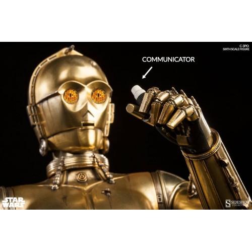 Star Wars Episode IV Action Figure 1/6 C-3PO 30 cm Sideshow Collectibles - 6