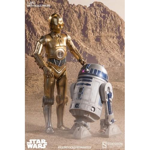 Star Wars Episode IV Action Figure 1/6 C-3PO 30 cm Sideshow Collectibles - 10