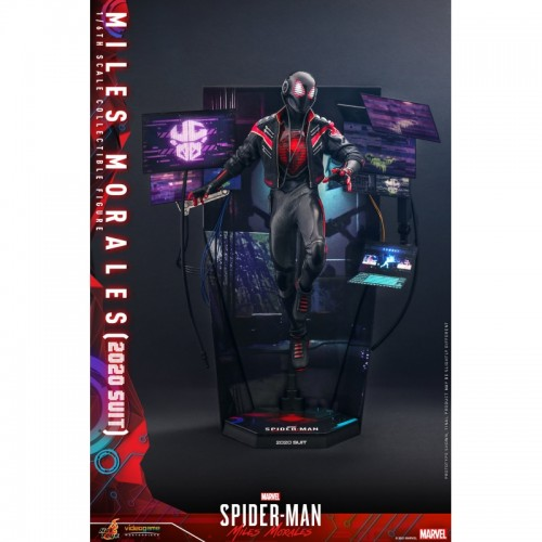 Marvel's Spider-Man: Miles Morales 1/6th scale Miles Morales (2020 Suit) 30cm Hot Toys - 17