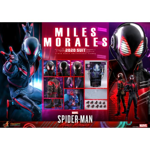 Marvel's Spider-Man: Miles Morales 1/6th scale Miles Morales (2020 Suit) 30cm Hot Toys - 21