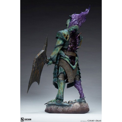 Court of the Dead Premium Format Figure Oathbreaker Strÿfe: Fallen Mortis Knight 60 cm Sideshow Collectibles - 3