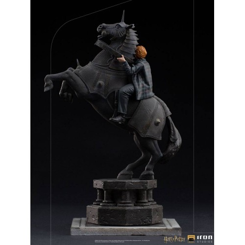 Harry Potter Deluxe Art Scale Statue 1/10 Ron Weasley at the Wizard Chess 35 cm Iron Studios - 4
