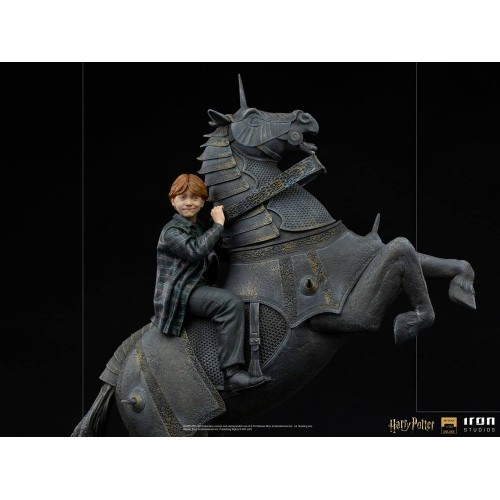 Harry Potter Deluxe Art Scale Statue 1/10 Ron Weasley at the Wizard Chess 35 cm Iron Studios - 6