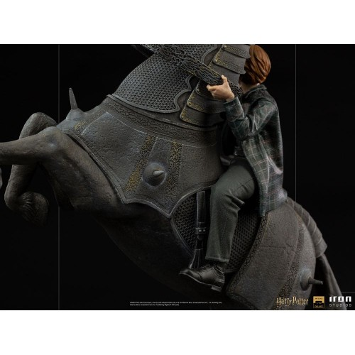 Harry Potter Deluxe Art Scale Statue 1/10 Ron Weasley at the Wizard Chess 35 cm Iron Studios - 10