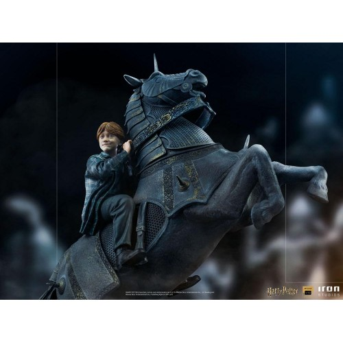 Harry Potter Deluxe Art Scale Statue 1/10 Ron Weasley at the Wizard Chess 35 cm Iron Studios - 13