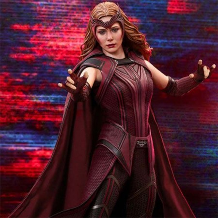 WandaVision Action Figure 1/6 The Scarlet Witch 28 cm Hot Toys - 1