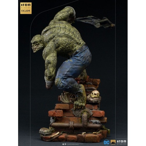 DC Comics BDS Art Scale Statue 1/10 Killer Croc Event Exclusive 31 cm Iron Studios - 5