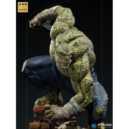 DC Comics BDS Art Scale Statue 1/10 Killer Croc Event Exclusive 31 cm Iron Studios - 8
