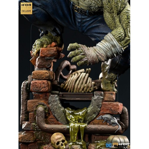 DC Comics BDS Art Scale Statue 1/10 Killer Croc Event Exclusive 31 cm Iron Studios - 9