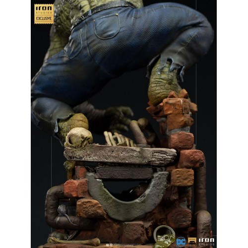 DC Comics BDS Art Scale Statue 1/10 Killer Croc Event Exclusive 31 cm Iron Studios - 10
