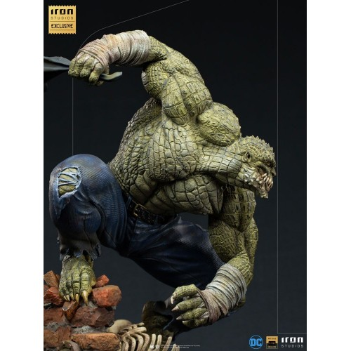 DC Comics BDS Art Scale Statue 1/10 Killer Croc Event Exclusive 31 cm Iron Studios - 11