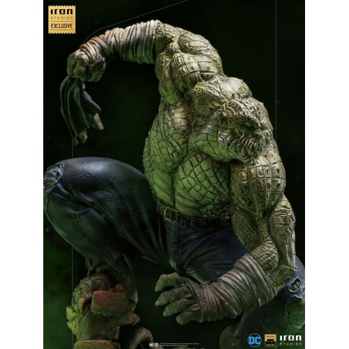 DC Comics BDS Art Scale Statue 1/10 Killer Croc Event Exclusive 31 cm Iron Studios - 15