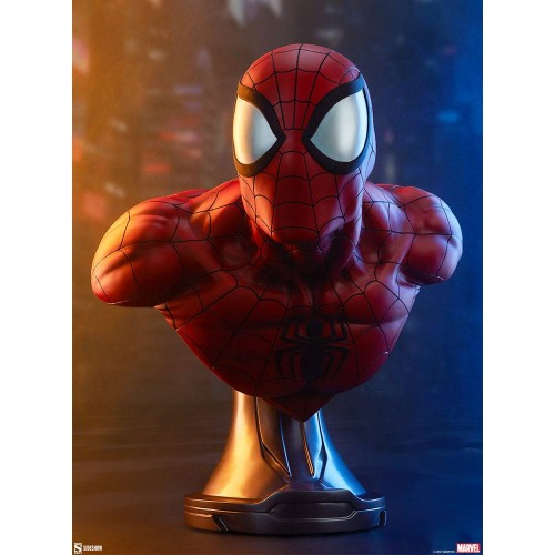 Marvel Bust 1/1 Spider-Man 58 cm Sideshow Collectibles - 2
