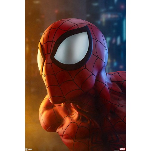 Marvel Bust 1/1 Spider-Man 58 cm Sideshow Collectibles - 3