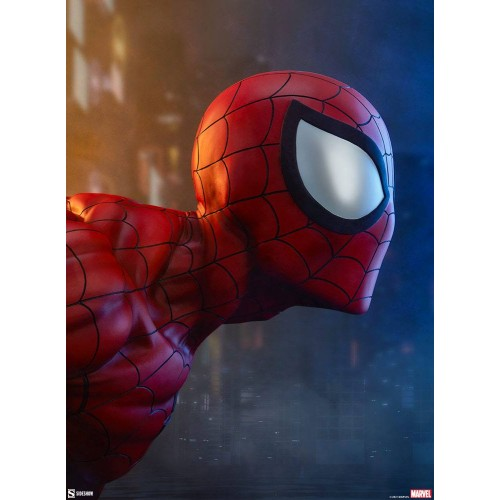 Marvel Bust 1/1 Spider-Man 58 cm Sideshow Collectibles - 4