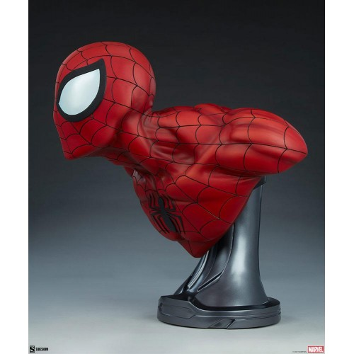 Marvel Bust 1/1 Spider-Man 58 cm Sideshow Collectibles - 5