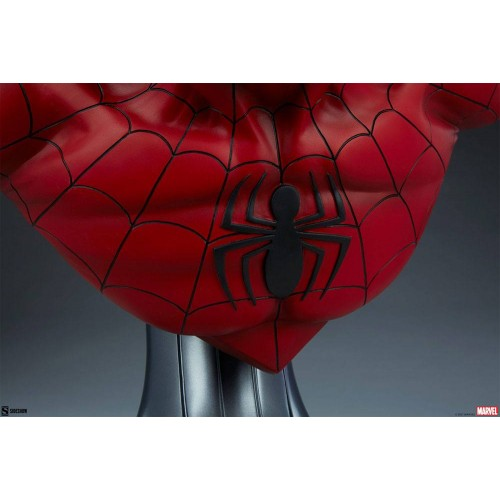 Marvel Bust 1/1 Spider-Man 58 cm Sideshow Collectibles - 11