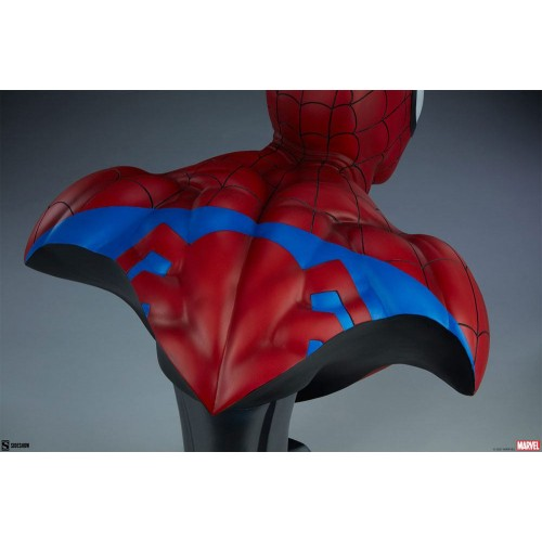 Marvel Bust 1/1 Spider-Man 58 cm Sideshow Collectibles - 12