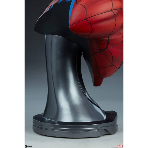 Marvel Bust 1/1 Spider-Man 58 cm Sideshow Collectibles - 14