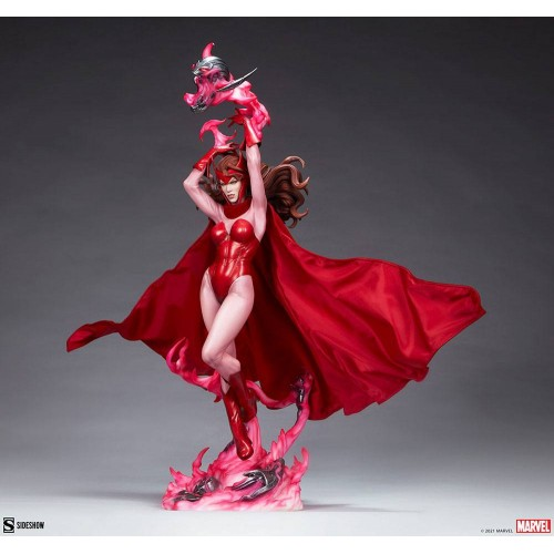 Marvel Premium Format Statue Scarlet Witch 74 cm Sideshow Collectibles - 5