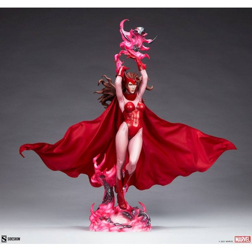 Marvel Premium Format Statue Scarlet Witch 74 cm Sideshow Collectibles - 7