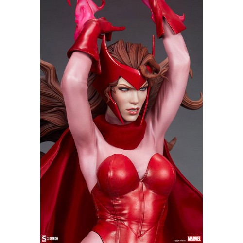 Marvel Premium Format Statue Scarlet Witch 74 cm Sideshow Collectibles - 9