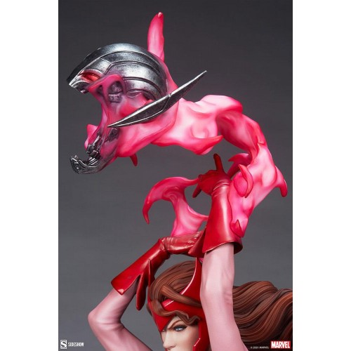 Marvel Premium Format Statue Scarlet Witch 74 cm Sideshow Collectibles - 11
