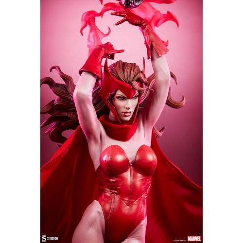 Marvel Premium Format Statue Scarlet Witch 74 cm Sideshow Collectibles - 16