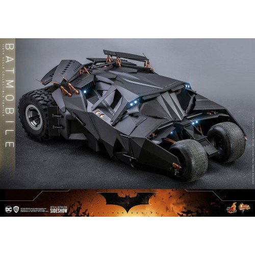 The Dark Knight Trilogy Movie Masterpiece Action Figure 1/6 Batmobile 73 cm Hot Toys - 4