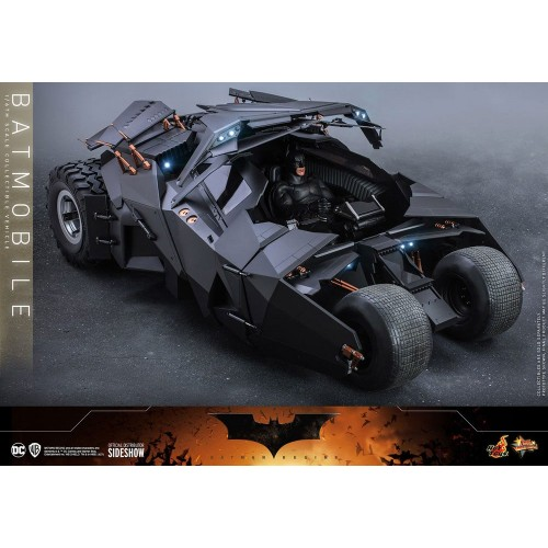 The Dark Knight Trilogy Movie Masterpiece Action Figure 1/6 Batmobile 73 cm Hot Toys - 7
