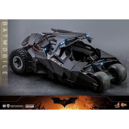 The Dark Knight Trilogy Movie Masterpiece Action Figure 1/6 Batmobile 73 cm Hot Toys - 8