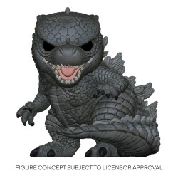 Godzilla Vs Kong Super Sized POP! Movies Vinyl Figure Godzilla 25 cm FUNKO - 1