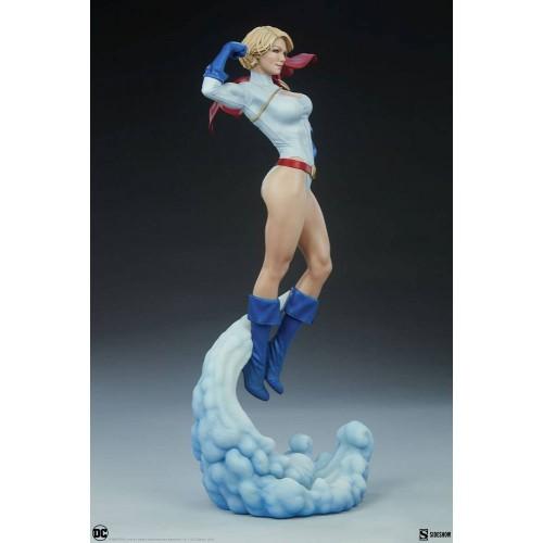DC Comics Premium Format Figure Power Girl 63 cm Sideshow Collectibles - 10