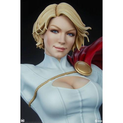 DC Comics Premium Format Figure Power Girl 63 cm Sideshow Collectibles - 12