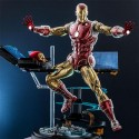 Iron Man Deluxe The Origins Collection Comic Masterpiece Action Figure 1/6 33 cm Hot Toys - 1
