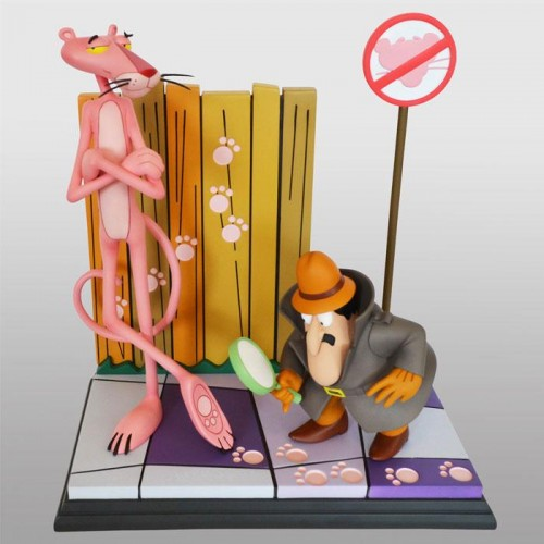 The Pink Panther Statue Pink Panther & The Inspector 41 cm HOLLYWOOD COLLECTIBLES GROUP HCG - 2