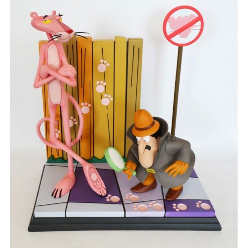 The Pink Panther Statue Pink Panther & The Inspector 41 cm HOLLYWOOD COLLECTIBLES GROUP HCG - 8