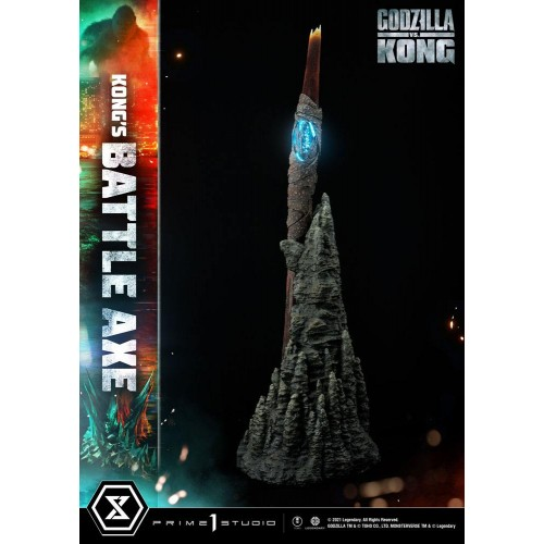 Godzilla vs Kong Replica 1/1 Kong's Battle Axe 95 cm Prime 1 Studio - 8