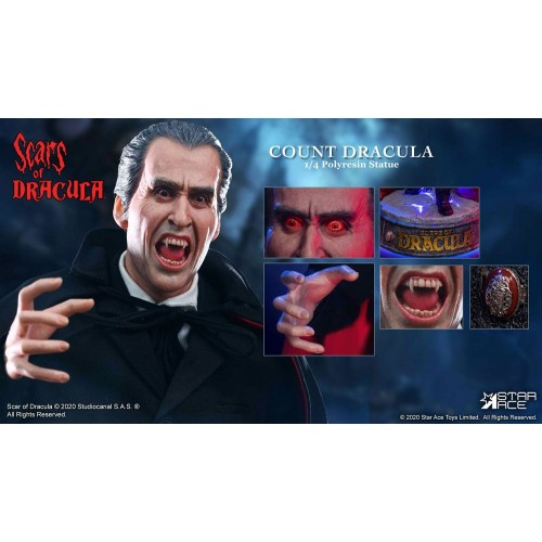 Scars of Dracula Statue 1/4 Count Dracula 2.0 DX Version 53 cm Star Ace Toys - 3