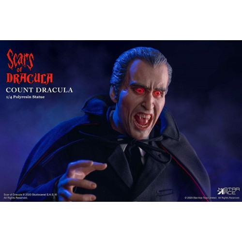 Scars of Dracula Statue 1/4 Count Dracula 2.0 DX Version 53 cm Star Ace Toys - 4