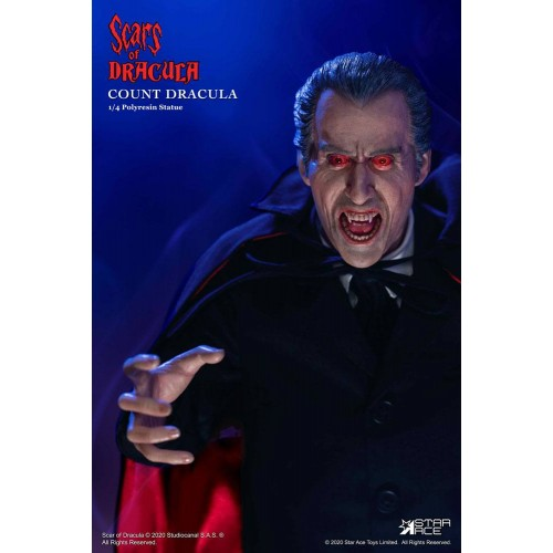 Scars of Dracula Statue 1/4 Count Dracula 2.0 DX Version 53 cm Star Ace Toys - 5